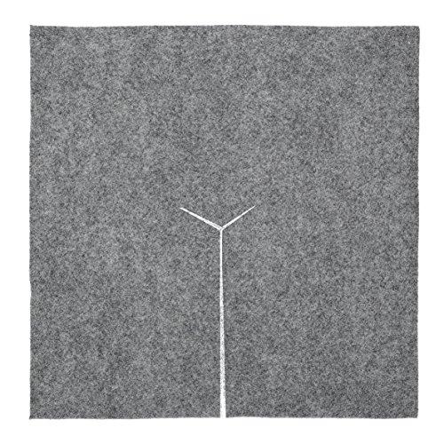 Idées B Création Dalle de paillage carré en Feutre 30 cm
