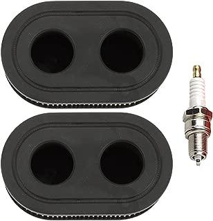 Mckin 593260 798452 Air Filter with Spark Plug for Briggs & Stratton 550E-550EX Series 4247 5432 5432K Engine Lawnboy Lawnmower