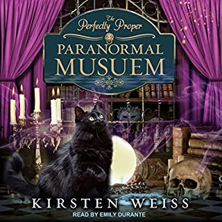 The Perfectly Proper Paranormal Museum audiobook cover art