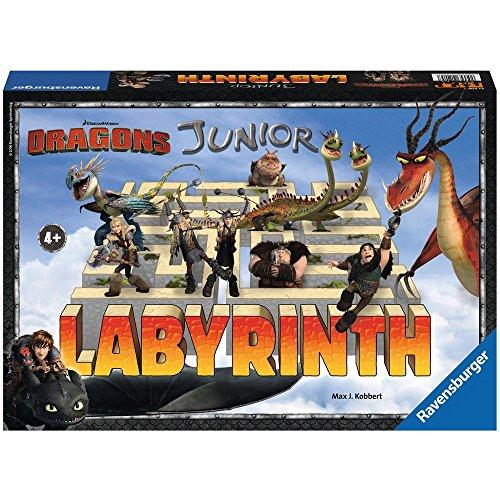 Ravensburger 21205 How to Train Your Dragon Kinderspiel, bunt