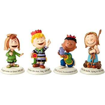 Peanuts Figures Christmas 2020 Set Amazon.com: Hallmark 2014 Glad Tidings Peanuts Nativity Additional