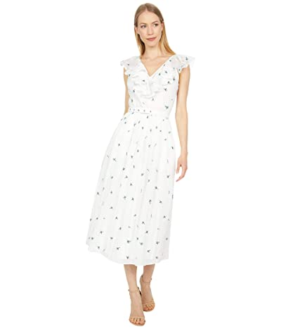 Kate Spade New York Embroidered Garden Ditsy Dress
