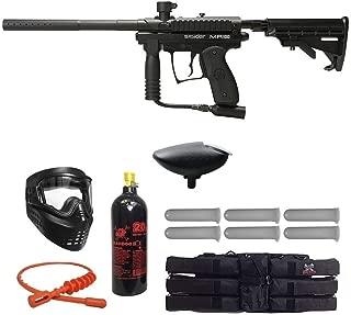 MAddog Kingman Spyder MR100 Pro Titanium Paintball Gun Package