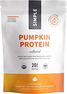 sprout living pumpkin protein