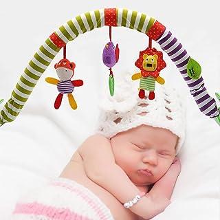 19ded3a15 Bebé colgando campana-bebé cama clip cochecito colgante adorable niños  sonido juguetes cama colgante sonajero