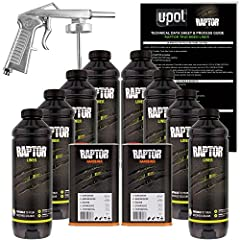 Easy to use: TINT- ADD hardener - SHAKE - SPRAY Enough material to re-spray the largest truck beds Abrasion and Stain Resistant Protects against rust corrosion salt damp & extreme temperatures Waterproof flexible helps deaden sound & vibrations