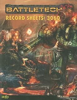 Battletech Record Sheets: 3060 (Battletech (Unnumbered))