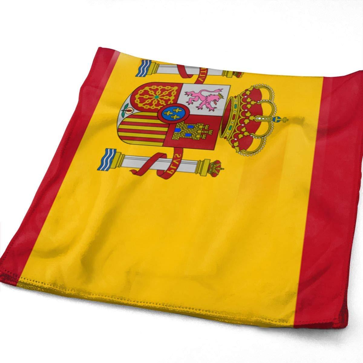 Hipiyoled EE. UU. España Bandera Toalla de Microfibra Multiusos Toallas de baño Toallas de Mano Toallas Toallas Baño 12