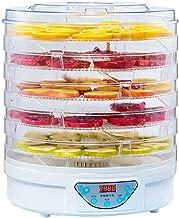 Máquina de conservación de alimentos para el hogar Secador de frutas, eléctrico Regulación de la temperatura ajustable Mudo Bandeja de 5 capas Comida seca para alimentos deshidratados para el hogar, F