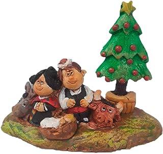 Belén Navidad Cerámica Abeto Manchegos
