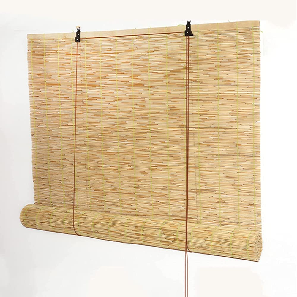 Pteng Natural Reed Curtain Retro W Ranking TOP16 Up Carbonization Ranking TOP14 Bamboo Roll