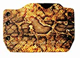Best Outlaw Holsters 1911 Holsters - Yellow Snake Skin Print OWB Holster Review