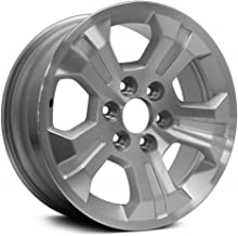 Replacement 5 Spokes Machined and Silver Factory Alloy Wheel