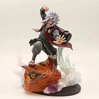 Verkligt och roligt Naruto jiraiya gama-bunta action figur doll modell animation karaktär staty barn gåva 21cm