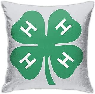 Linda 4-H Pillow Case Pillow Case Sofa Home Decoration 18