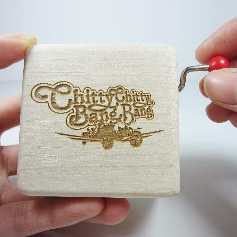 Zyfun Spieluhr Creative Artware Handgemachte hlzerne Spieluhr Geschenk Geburtstag Weihnachten Neujahr