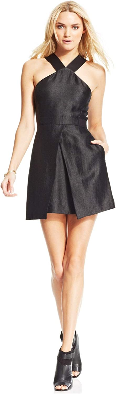 Rachel Roy $129 Womens New 9944 Black V Neck Sleeveless Sheath Dress 2 B+B