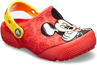 Crocs Kids' Boys and Girls Disney Mickey Mouse Clog