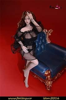[AC]1/12 セクシー 美人 女性 リアル 可愛い キュート アクション フィギュア シームレス 素体 ボディー用 レス ドレス 服 下着 パンツ セット A