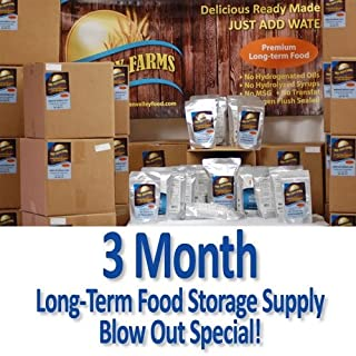 Best food storage for 3 months Reviews
