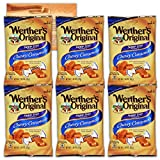 Werthers Original Sugar Free Chewy Caramel Candy| 1.46 Ounce Bags - Pack of 6 | Bundled with Ballard Caramel Sauce Recipe Card by Several