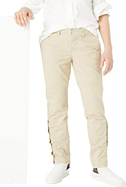 Chino Pants Slim Stretch with Adjustable Waist and Velcro® Magnet Buttons