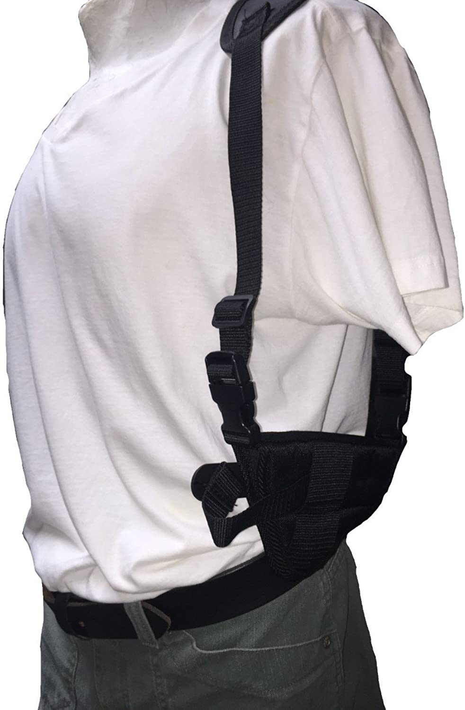 Nylon Horizontal Deluxe Shoulder Holster Fits Beretta 96  9mm, .40 S&W