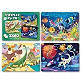 Puzzles for Kids Ages 4-8 | Each Puzzle for Kids Consists of 60 Pieces Kids Puzzle | Original Artwork Done by Our Talented Designers at Fun Tribe Crew