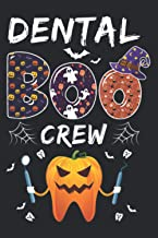 Dental Dentist Halloween Boos Crew Funny Costume Assistant: Plan Your Day In Seconds: Notebook Planner, Daily Planner Jour...
