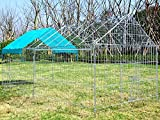 Zoom IMG-2 eugad recinto per conigli esterno