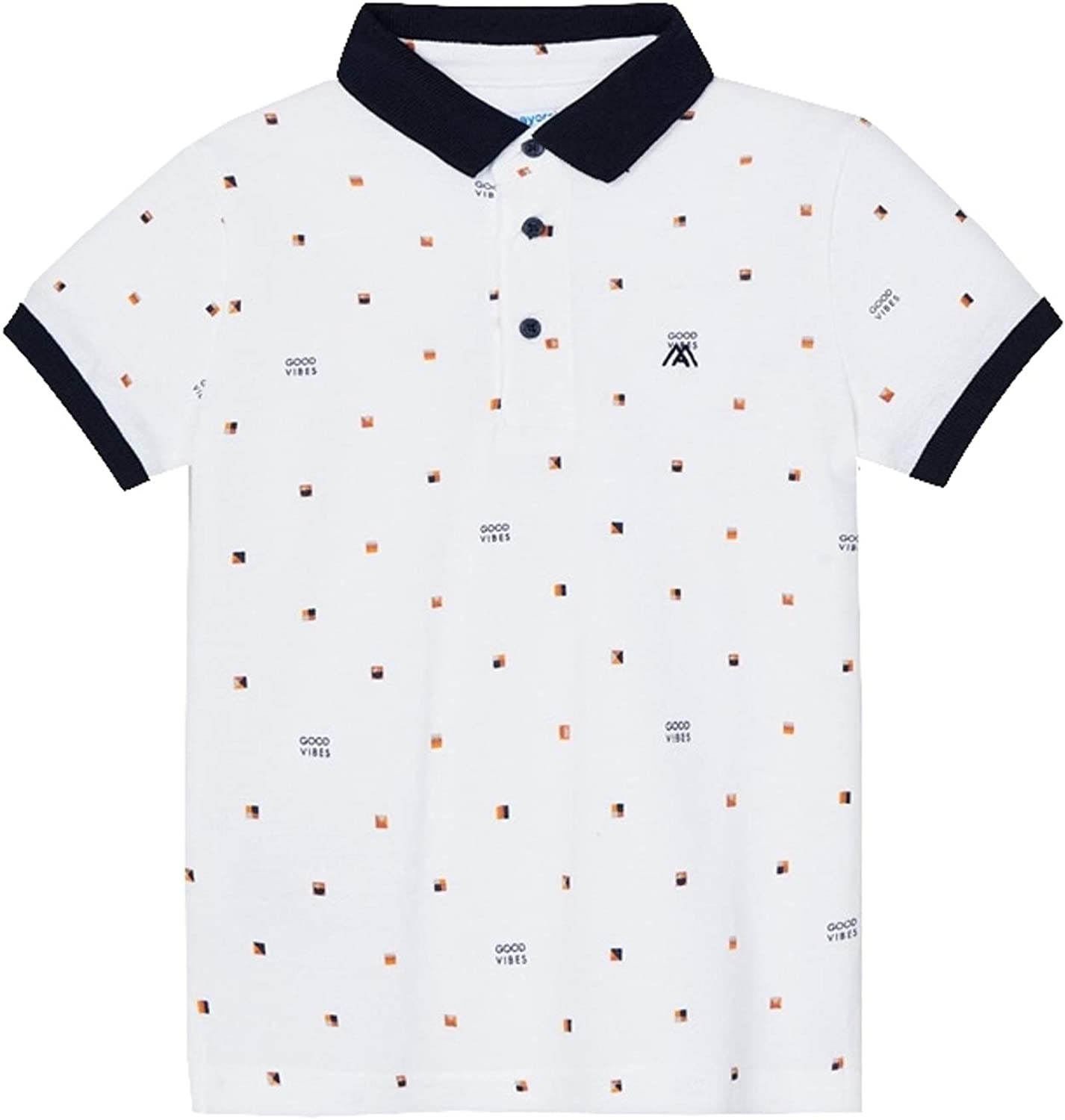 Mayoral - S/s Polo for Boys - 3106, White