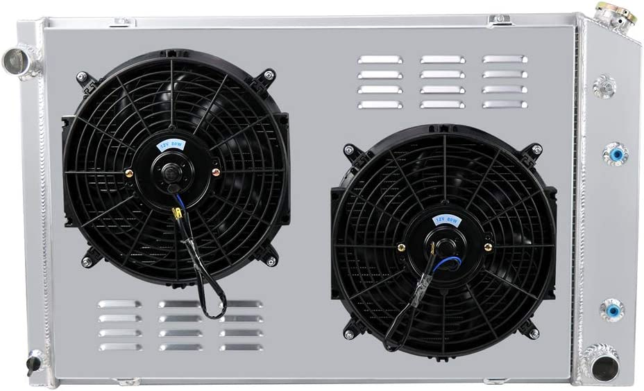 Limited time cheap sale OzCoolingParts 73-91 Chevy C K R Fan Series Sales for sale Radiator Kit Shroud