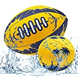 Clownew Beach Pool Balls Set, Include Water Football + Skipping Ball for Teens and Adults Older Kids Family Water Lake Swimming Pool Beach Party Games Toys Fun (2 Pack)