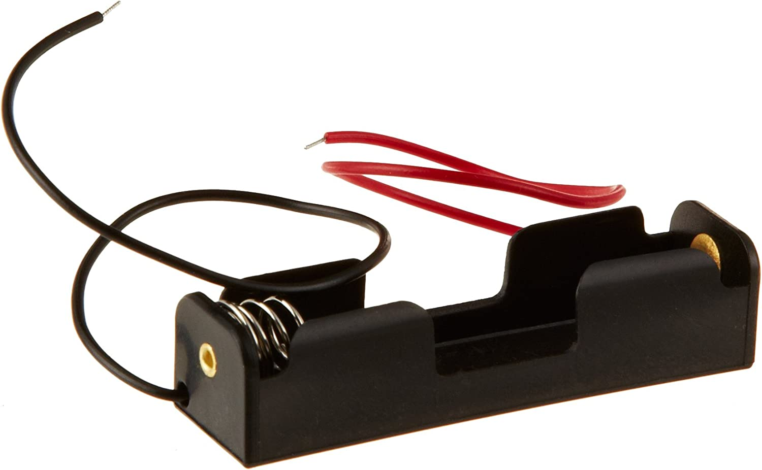 Ajax Scientific - EL020-0001 Battery Holder with Lead Wire, 1x AA Cell (Pack of 10)