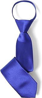 [エムエイチエー] M.H.A.style ネクタイ 子供用 ワンタッチ (簡単装着) 男の子 キッズ ジュニア [ 全20色 ] 無地 卒業式 30492