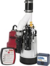 THE BASEMENT WATCHDOG Model DFK961 1/3 HP Combination Submersible Sump Pump with Cast Iron/Cast Aluminum Primary Sump Pump...