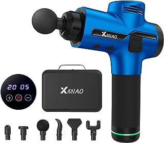 XMIAO Massage Gun-Deep Tissue Muscle Massage Gun-Powerful 20 Speeds Vibration Percussion Muscle Massager-Electric Cordless...