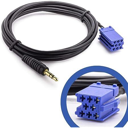 Hama Aux In Adapter 3 5 Mm Klinkenstecker Für Becker Elektronik