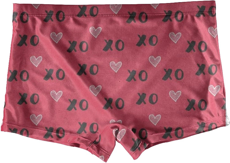 Hummingbirds Flowers Spring Poppy Special Boxer Briefs For Girls Kids Underwear Boyshorts Knickers Toddler