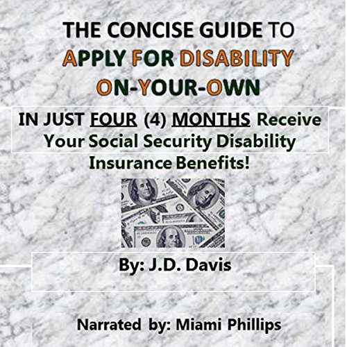 The Concise Guide to Apply for Disability On-Your-Own audiobook cover art