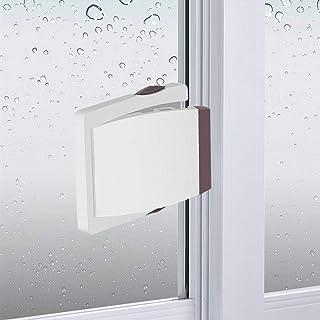 Sliding Glass Door Child Lock - OKEFAN 4 Pack Baby Safety Slide Window Locks for Kids Proof Patio Closet Doors No Drilling...