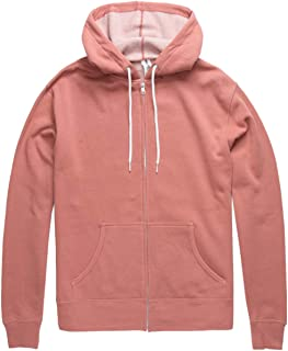Independent Trading Company Dusty Pink Zip Hoodie