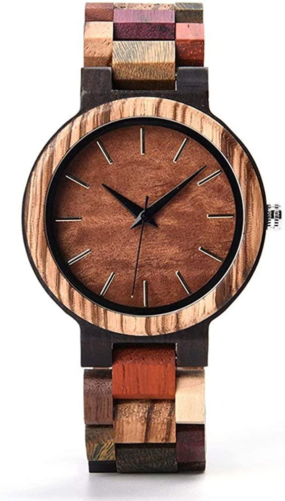 Mens Wooden Watch Limited time for free shipping Lightweight Cool Quartz Moveme Luminous Analog Fashionable