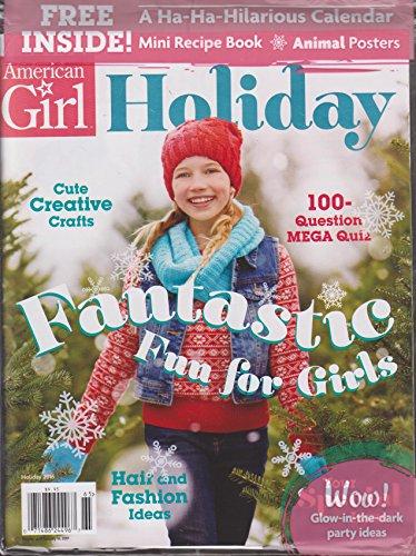 American Girl Magazine Holiday 2016