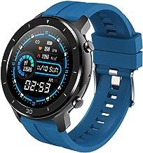 Smart horloge, IP67 waterdichte full touch fitness tracker, ondersteuning stappenteller slaapmonitor, dames outdoor sport ...