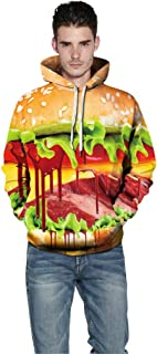 Halloween Hoodie Unisex Sweatshirt Long Sleeve Pullover Women Men Tops Novelty Pattern Sweatshirts 3D Print Scary