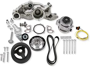 NEW HOLLEY MID-MOUNT RACE ACCESSORY SYSTEM WITH ALTERNATOR,TENSIONER,CRANK DAMPER,BELT & PULLEYS,COMPATIBLE WITH GM LS ENGINES