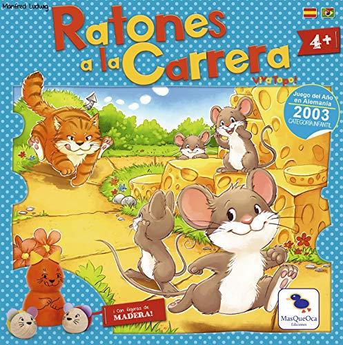 Ediciones MasQueoca - Ratones a la Carrera (Viva Topo) (Español)(Portugués)