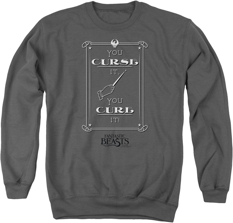 Fantastic Beasts - - Mens Curse It Sweater