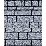 Amscan 670063 Stone Wall Room Roll 48' x 40' 1ct